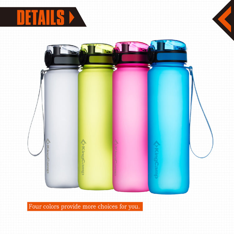 King Camp Water Bottle TRITAN BPA-FREE